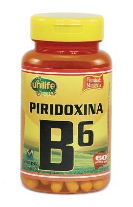Vitamina B6 - 60 cápsulas