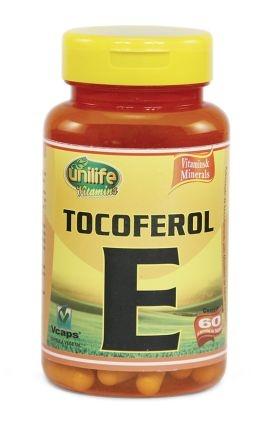 Vitamina E - 60 cápsulas