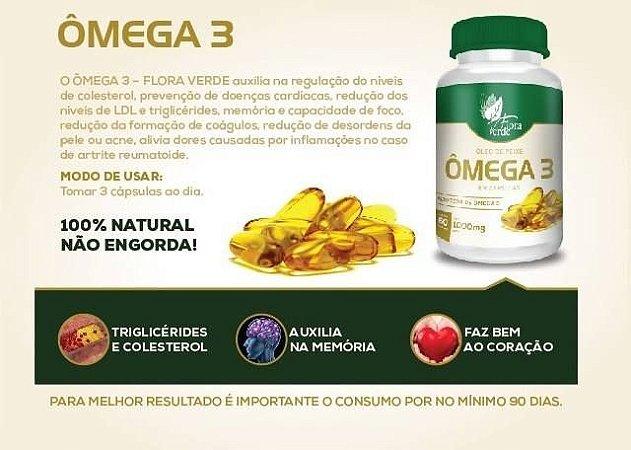 Ômega 3 - 1000 mg | Caixa com 12 unidades |