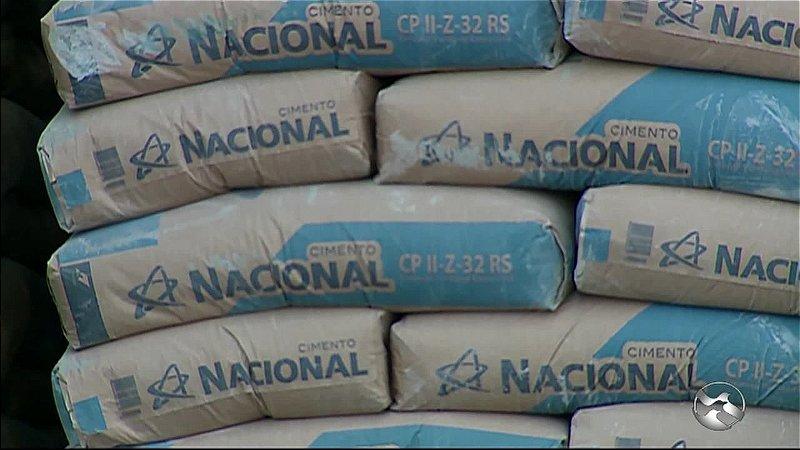 Cimento Nacional em Até 12 x no Cartão (entrega partir de 30 sacos) Carpina