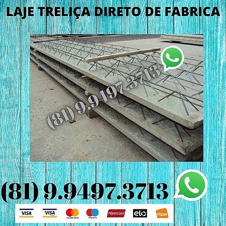 Laje Treliça com isopor Moreno