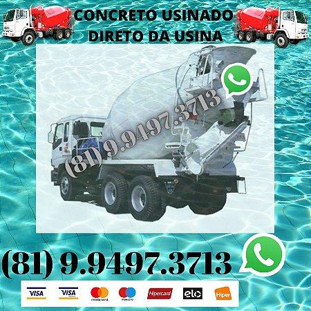 Concreto Usinado direto da Usina Lagoa do itaenga