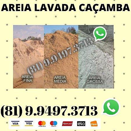 Areia Lavada direto do Areeiro Porto de Galinhas