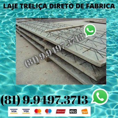 Laje Treliça com isopor Lagoa do itaenga