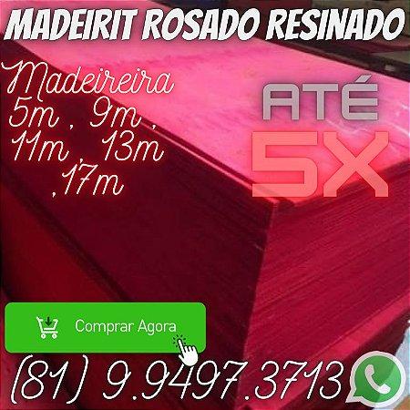 Madeirite resinado Rosado Direto da Madeireira  Paulista Pe