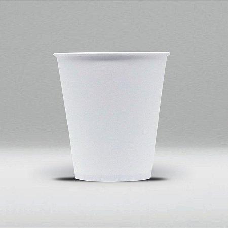 Copo de Papel Branco Biodegradável e Reciclável 100ml Caixa com 2500 Unidades