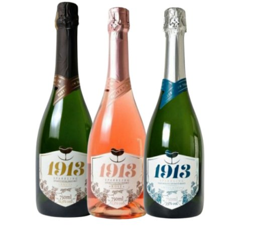 Kit Espumante 1913 Sparkling Kit 1 Brut Rosé, 1 Brut - Espumante e  1 Moscatel