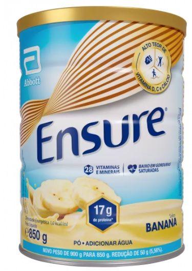 Ensure 850g - Sabor Banana