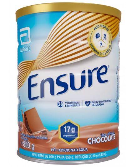 Ensure 850g - Sabor Chocolate