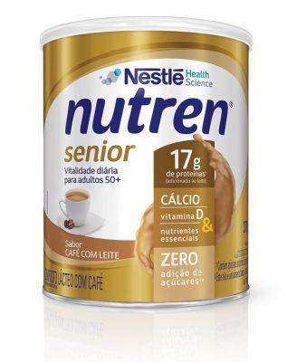 Nutren Senior 370g - Sabor Café Com  Leite