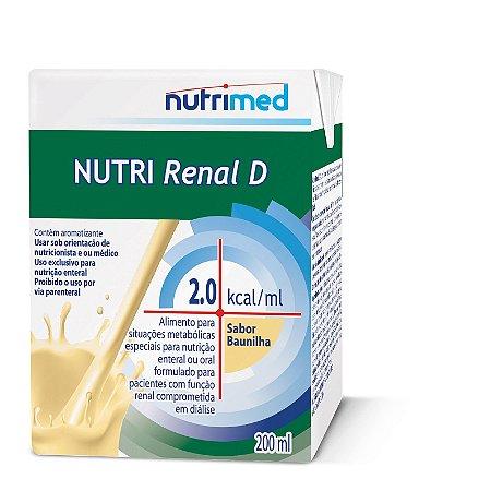 Nutri Renal D 2.0 200ml - Sabor Baunilha