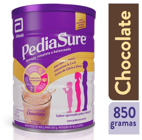 Pediasure Complete 850g - Sabor Chocolate