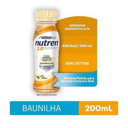 Nutren 2.0 200ml - Sabor Baunilha
