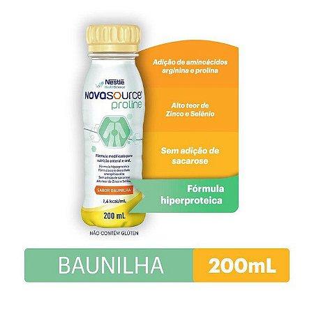 Novasource Proline 200ml - Sabor Baunilha