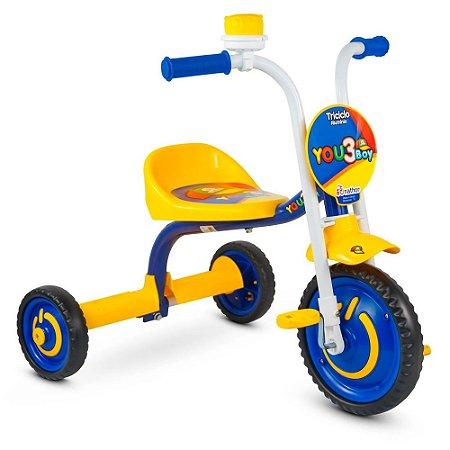 Triciclo Nathor Infantil Aluminio You 3 Boy