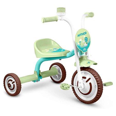 Triciclo Nathor Infantil Aluminio Baby Verde