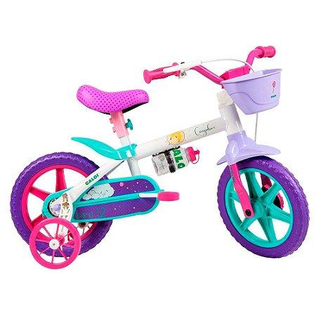 Bicicleta Nathor Aro 12 Infantil Cecizinha