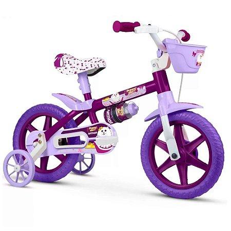 Bicicleta Nathor Aro 12 Infantil Puppy