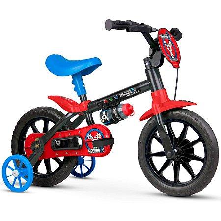 Bicicleta Nathor Aro 12 Infantil Mechanic