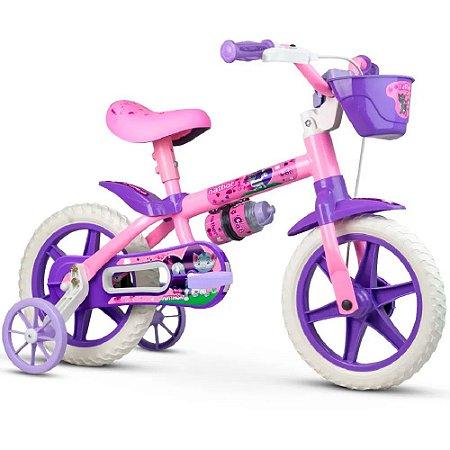 Bicicleta Nathor Aro 12 Infantil Cat