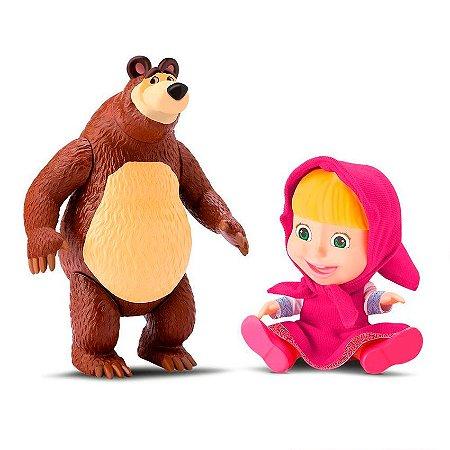 Masha E O Urso Em Vinil Divertoys