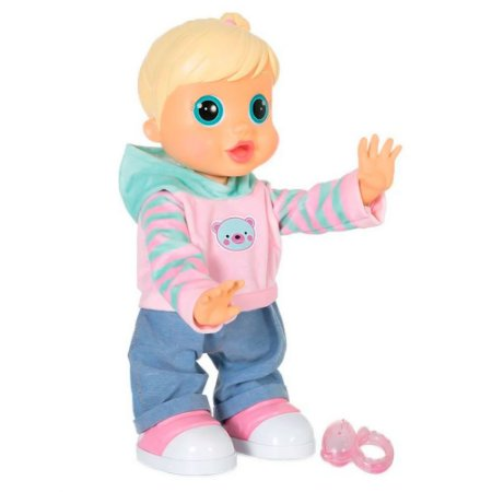 Boneca Multilaser Baby Wow Malu Interativa Fala E Anda