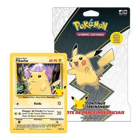 Card Game Pokemon Copag Booster Blister Gigante Pikachu