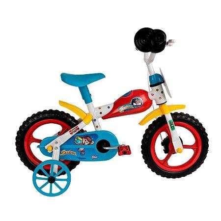Bicicleta Infantil Senninha Styll Baby Aro 12 Som De Moto