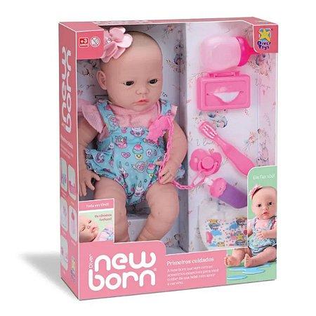 Boneca New Born Primeiros Cuidados