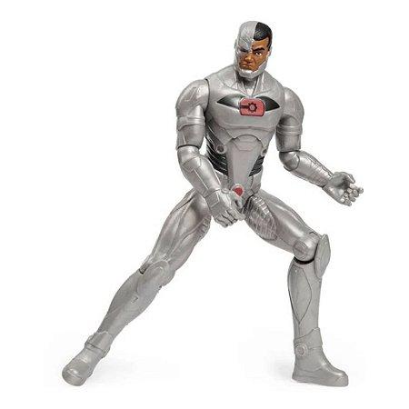 Boneco Cyborg Articulado 30 Cm Dc Liga Da Justiça