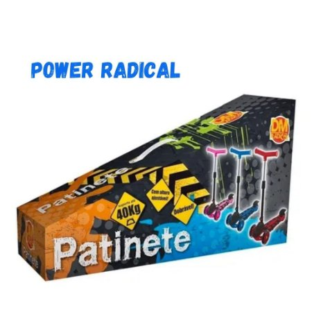 PATINETE DM BRASIL POWER AZUL DMR 5553
