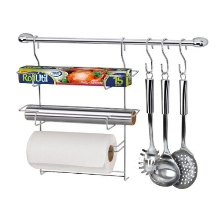 Kit Cozinha Cook Home 6 Porta Rolos Arthi