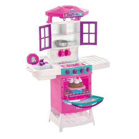 Cozinha Infantil Meg Doll Magic Toys Unicórnio