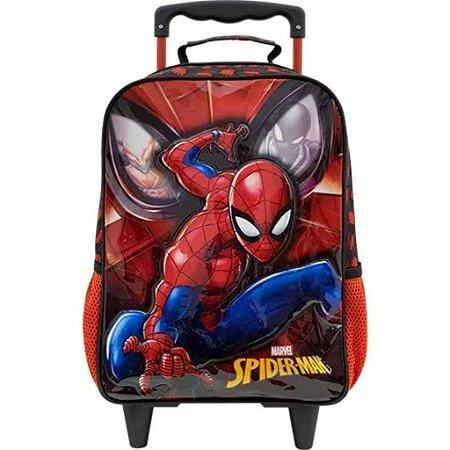 Mochila De Rodinha M Homem Aranha Spider Man Xeryus