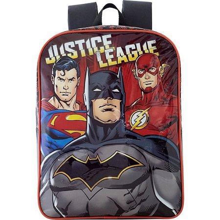 Mochila De Costas G Liga Da Justiça Batman Infantil Xeryus