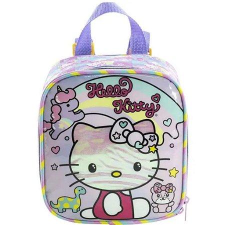 Lancheira Hello kitty Rainbow Infantil xeryus 8814