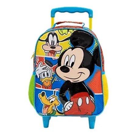 Mochila De Rodinhas Mickey Mouse  Tamanho 14 Xeryus  R1 9311