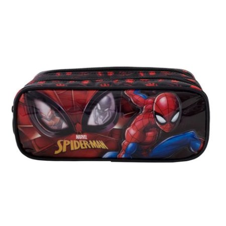 Estojo Duplo Homem Aranha  Spider Man Infantil Xeryus 9475