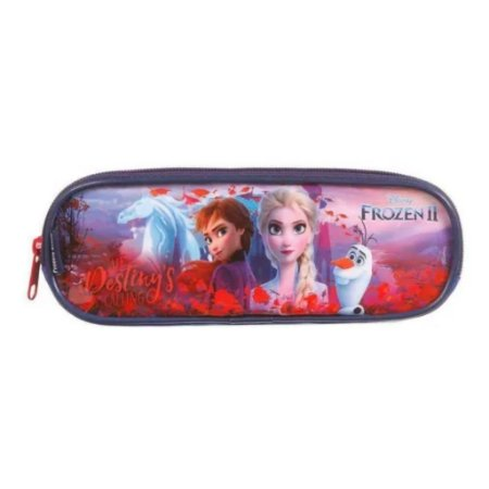 Estojo Soft  Duplo Fonzen 2 Disney Infantil 37377 Dermiwil