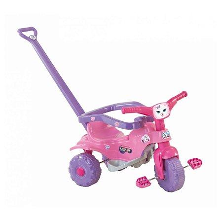 Triciclo Magic Toys Tico Tico Pets Rosa Gatinha Velotrol