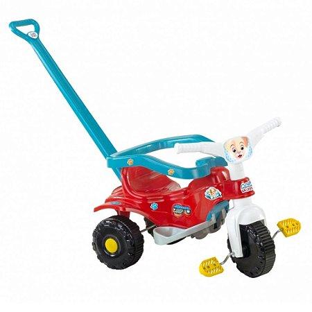 Triciclo Velotrol Tico tico Pets Azul Cachorrinho Magic Toys