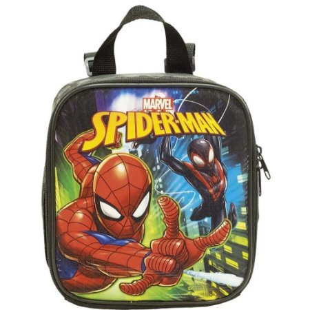 Lancheira Escolar Homem Aranha Rescue Infantil Xeryus 8674