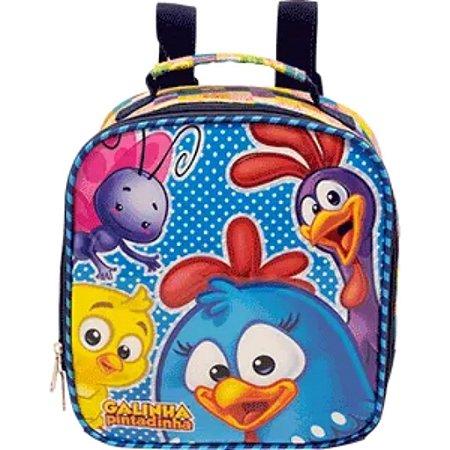 Lancheira Escolar Galinha Pintadinha R1 Infantil Xeryus 9584
