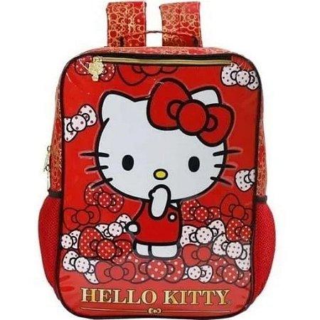 Mochila De Costas Hello Kitty Bow Bow Infantil Xeryus 7852
