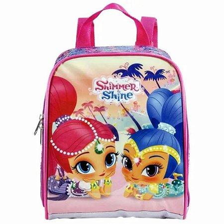 Lancheira Infantil Shimmer & Shine Double Trouble -7364