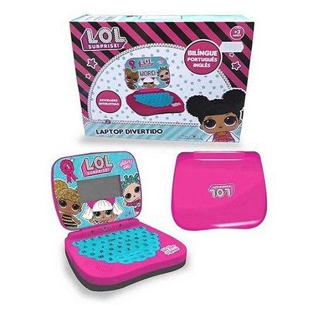 Brinquedo Laptop Infantil Bilíngue Lol Surprise- Candide