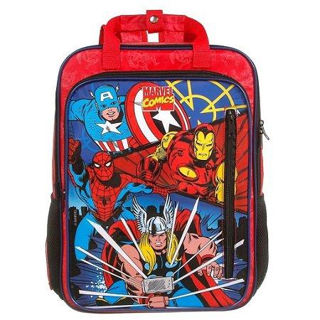 Mochila De Costas G Infantil Super Max Marvel Comics 11677
