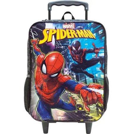 Mochila De Rodinhas Homem Aranha  Spider Man Infantil 8670