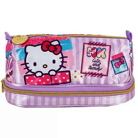 Estojo Duplo Hello Kitty  Xeryus - 7886