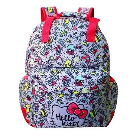 Mochila De Costas Juvenil Hello Kitty Escolar Xeryus 9056